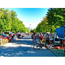 Olimpia Park Flohmarkt (Bit Pazari) - Almanya
