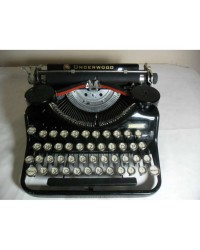 1930's UNDERWOOD PORTABLE DAKTİLO - ÇANTALI